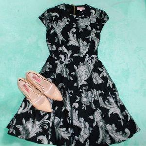 ted baker ~ daneita acanthus scroll print dress